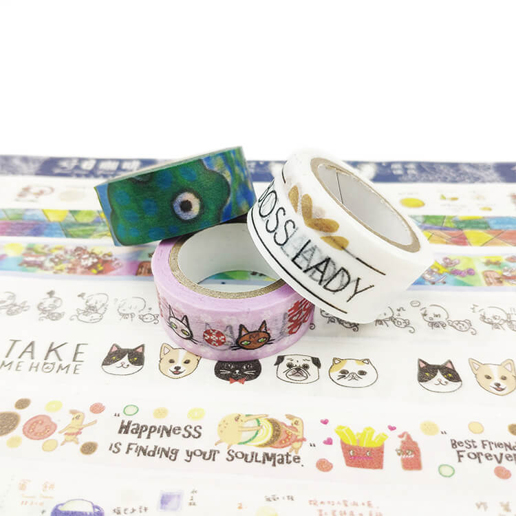 產品 紙膠帶 Product washi tape